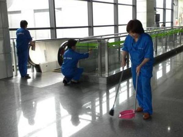新都商场保洁